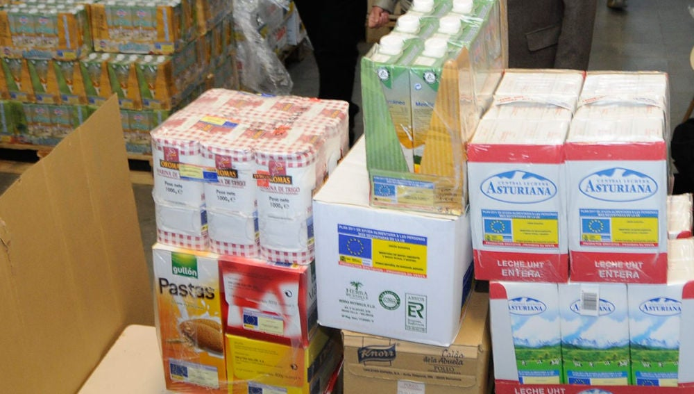 El Banco de Alimentos de Badajoz lanza una campaña para conseguir leche durante la próxima semana