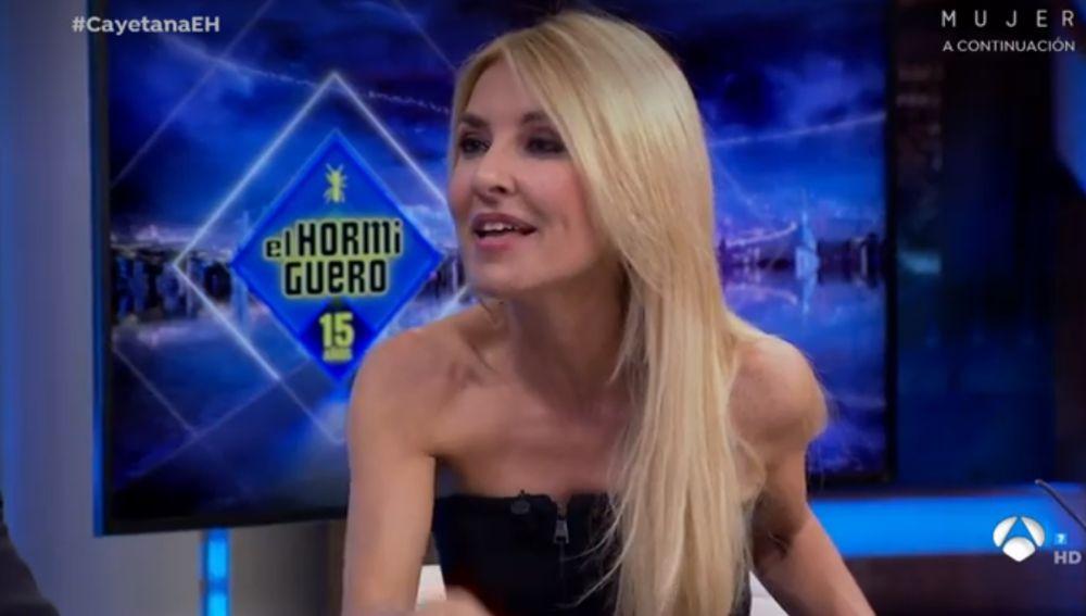 Cayetana Guillén-Cuervo en El Hormiguero 3.0