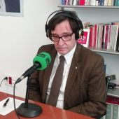 Salvador Illa durante una entrevista con Onda Cero