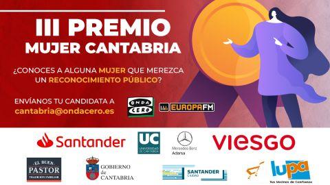Convocado el III Premio Mujer Cantabria