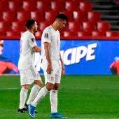España no puede con Grecia en el partido clasificatorio para el Mundial de Qatar