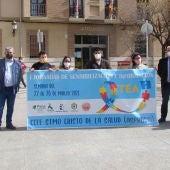 Quintanar y la comarca se visten de azul por el Día Mundial de Concienciación sobre el Autismo