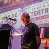 Pepe Viyuela actuando en el especial de Más de uno desde el teatro La Latina