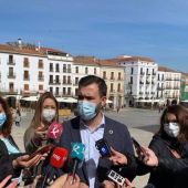 El alcalde de Cáceres anuncia que dimitirá si la Junta autoriza la mina de litio