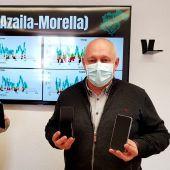 Ignacio Ardid y Antonio Saz, portavoces del movimiento ciudadano Teruel Existe