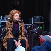 Julia Gutiérrez Caba en el programa especial de Más de uno desde el teatro La Latina