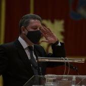 García-Page durante su intervención en la UCLM