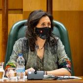 Paloma Espinosa es la concejal delegada del área de mayores del Ayuntamiento