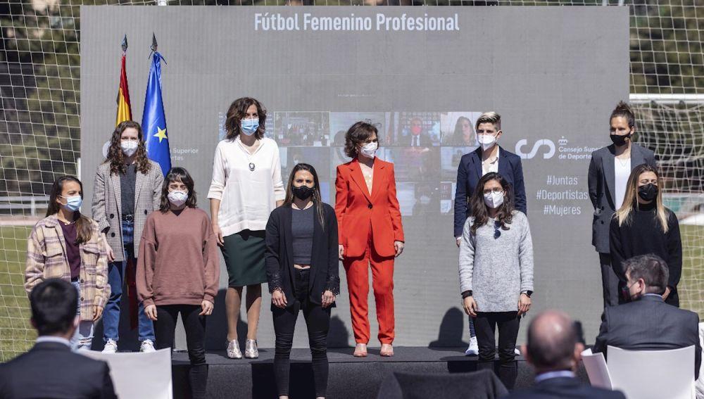 Fútbol femenino profesional