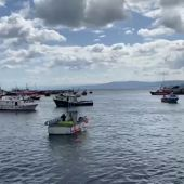 Protesta de la flota artesanal contra los nuevos controles de la UE