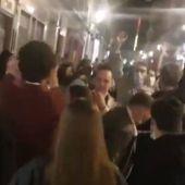 Nuevas imágenes de aglomeraciones en el centro de Madrid tras el toque de queda