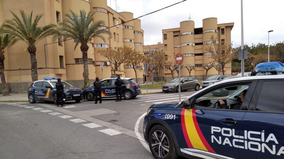 Operativo de la Policía Nacional