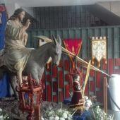 Exposición de la Hermandad de Las Palmas en la iglesia de los Salesianos