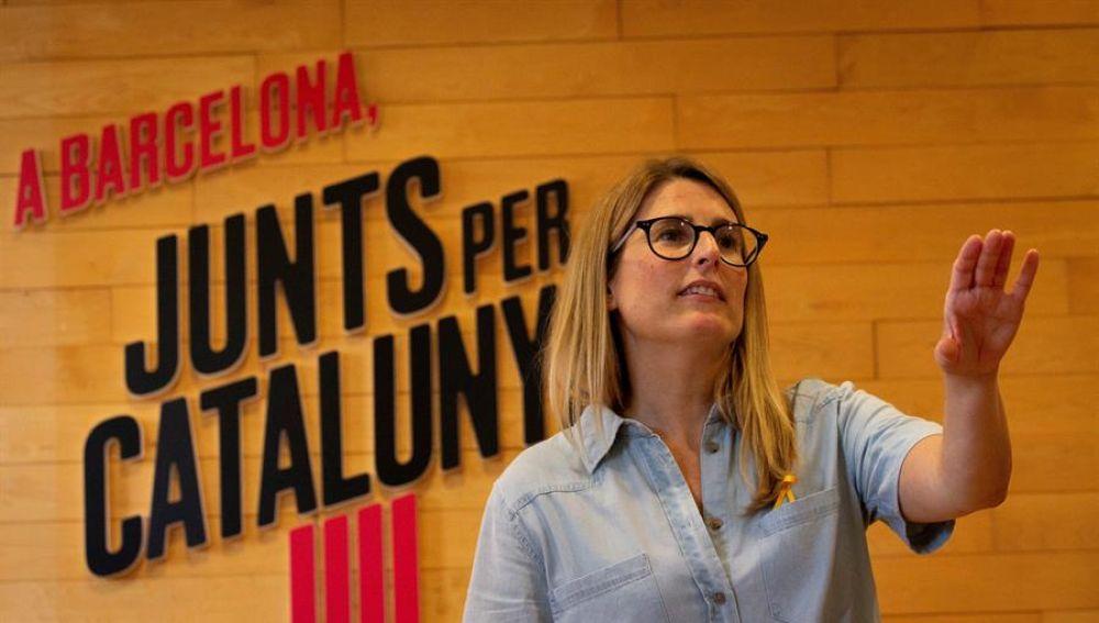 JxCat volverá a abstenerse en la segunda votación de investidura de Aragonès