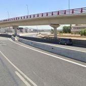 Paso elevado de la M300 en Alcalá de Henares