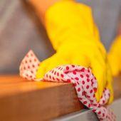 Trabajos de limpieza en el hogar