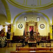 Interior de Santa Nonia el Lunes Santo de 2021