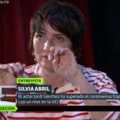 Silvia Abril se emociona al recordar el ingreso en la UCI de Jordi Sánchez por coronavirus