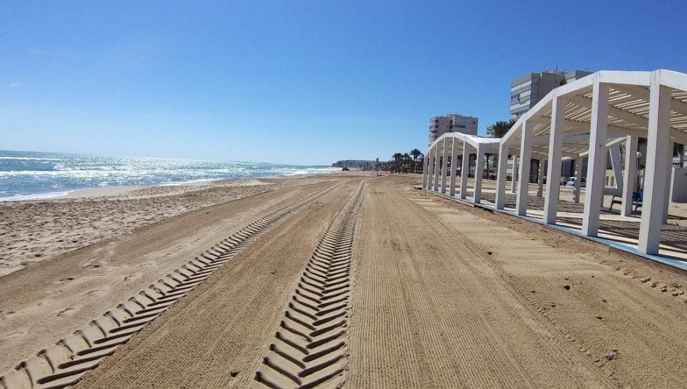 Limpieza diaria de las Playas de Alicante