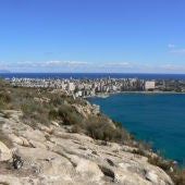 Vistas del Cabo de la Huerta en Alicante