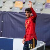 Gonzalo Villar con la sub21