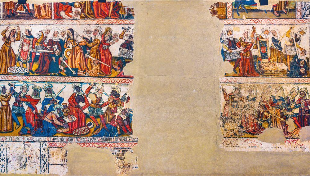 Pinturas de la Catedral de Mondoñedo