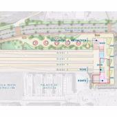 El Ayuntamiento estudia redimensionar la estación de autobuses junto a la intermodal propuesta en Sanz Crespo