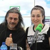 Ángeles Muñoz i Dioni Martín son 'Camela'