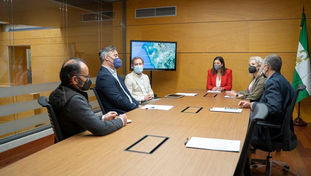 Reunión en el Ayuntamiento de San Fernando