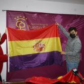 Instantes de la presentación de los actos en Puerto Real