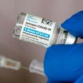 Dosis de la vacuna contra el coronavirus de Janssen