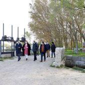 Fundación Iberdrola, Ayuntamiento de Frómista y Diputación unen esfuerzos para la iluminación de la esclusa cuádruple del Canal de Castill
