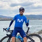 Alejandro Valverde no estará en Elche en la salida de la Volta a la Comunitat.