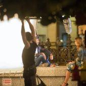 El zaragozano Miguel Angel Lamata eligió las calles de Zaragoza para el rodaje de 'Nuestros Amantes', con Michelle Jenner y Eduardo Noriega.