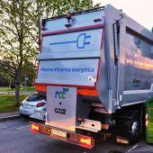 EMULSA prueba un camión eléctrico en el servicio de recogida de residuos