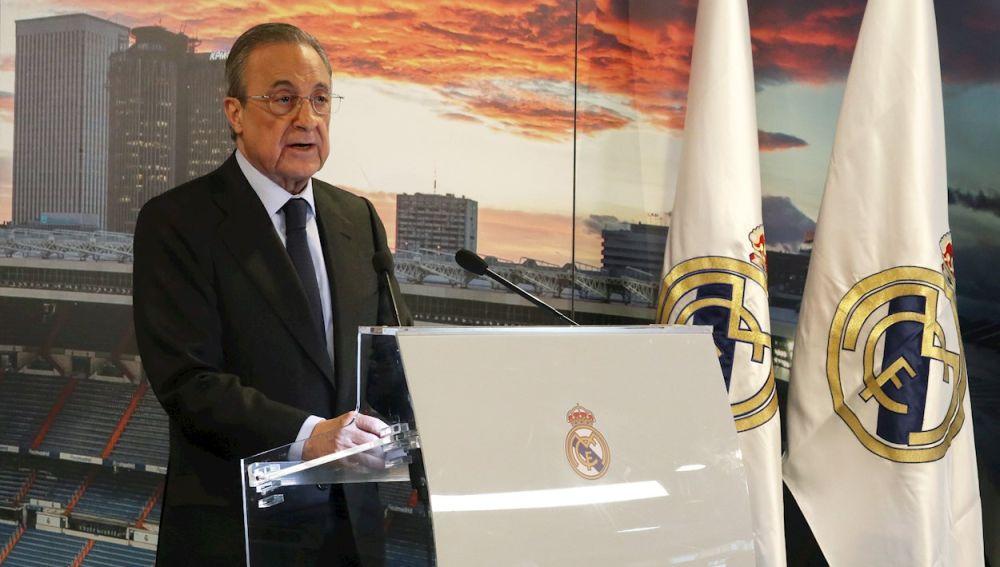 Florentino Pérez será presidente del Real Madrid hasta 2025