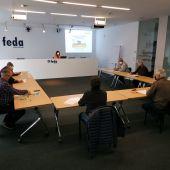 Reunión de la Asociación de máquinas recolectoras.