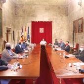 Reunión en el Consolat de Mar con el sector cultural de las islas para tratar las ayudas a los profesionales.