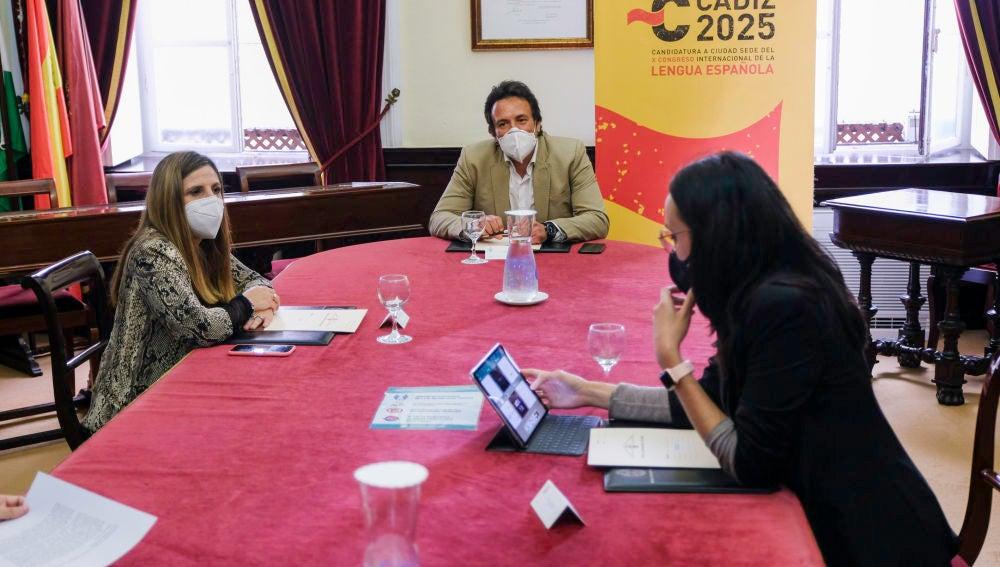 Diputación se adhiere a la candidatura de Cádiz para albergar el X Congreso de la Lengua Española