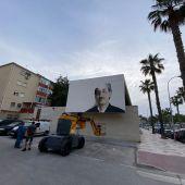 Mural homenaje a Martín Carpena