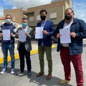 El Ayuntamiento de Rafal autoriza que las aguas residuales de la calle Cantalobos pertenecientes al termino municipal de Orihuela se conduzcan a través de su red de alcantarillado municipal