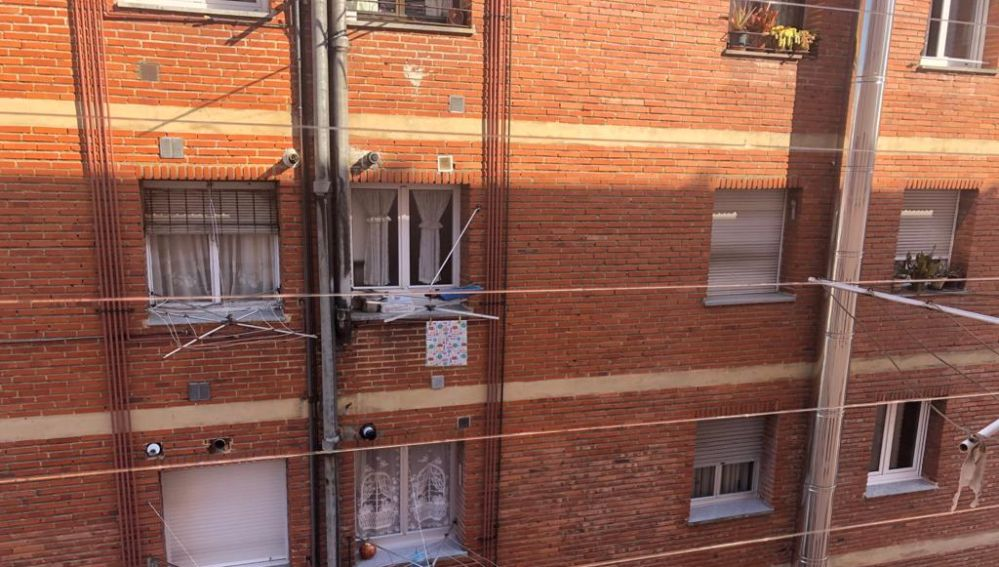 Tendales de ropa en Oviedo