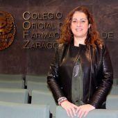 Raquel García Fuertes es la presidenta del Colegio de Farmacéuticos de Zaragoza desde febrero de 2020