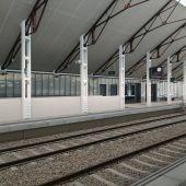 Nueva estación ferroviaria de Canfranc