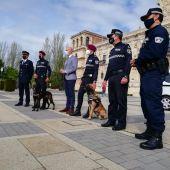 Presentación de la Unidad Canina de la Policía Local de León