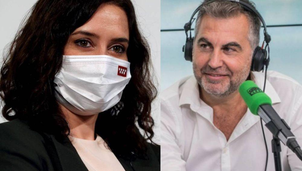 El toque de Alsina a Ayuso por negarse a debatir en Telemadrid