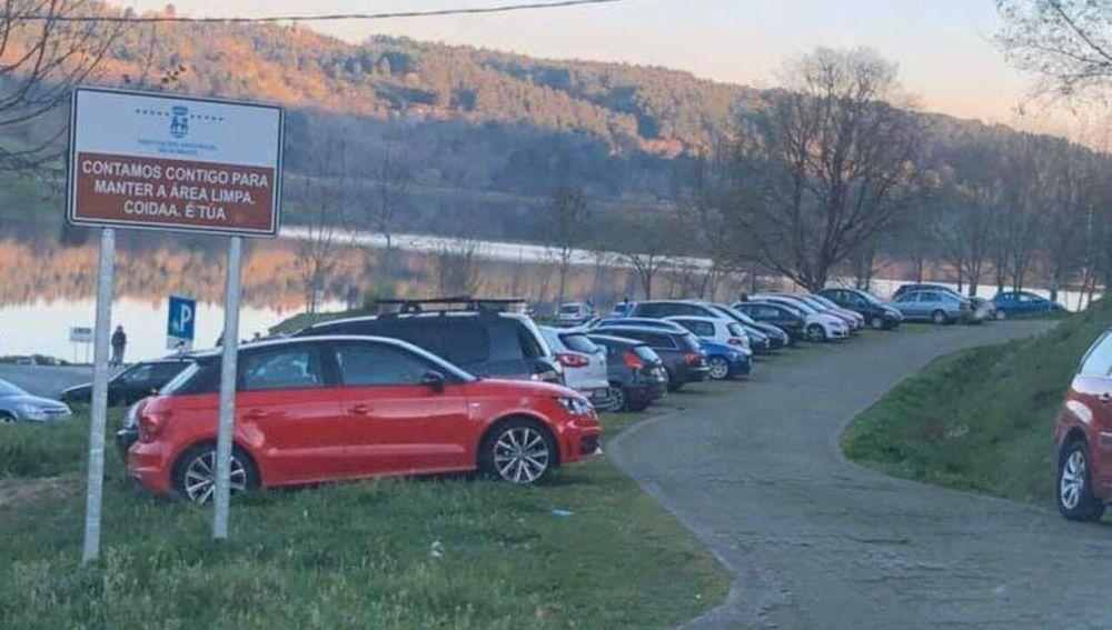 A Deputación habilitará un aparcadoiro no parque de Cachamuiña