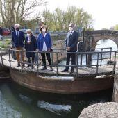 Delegación del Gobierno y Diputación de Palencia unen fuerzas en la rehabilitación del puente de Naveros de Pisuerga
