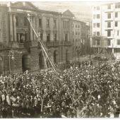 Declaración de la II República en Eibar