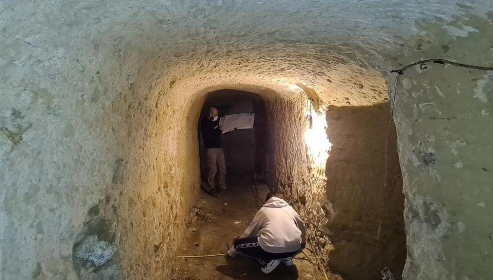 El equipo de arqueólogos ha presentado el hallazgo.